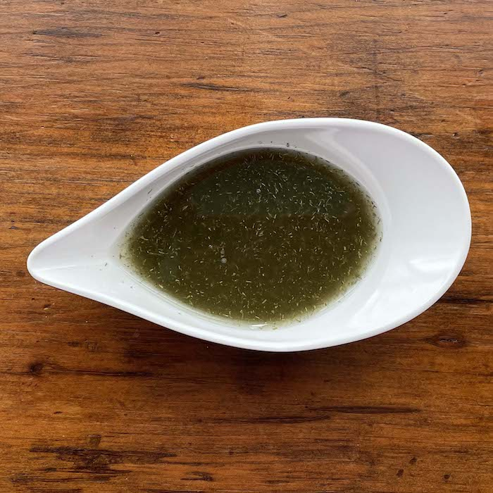 Horseradish Dill Vinaigrette Salad Dressing
