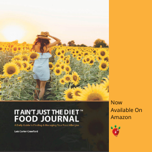 It Ain't Just the Diet Food Journal Available on Amazon