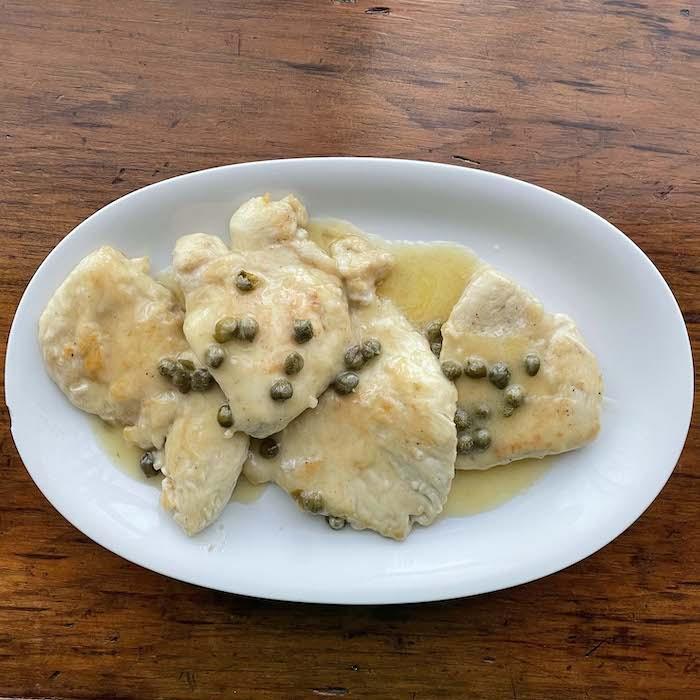 Chicken Piccata Easy