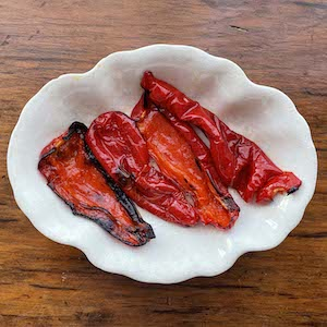 Roasted Red Peppers. Yum.