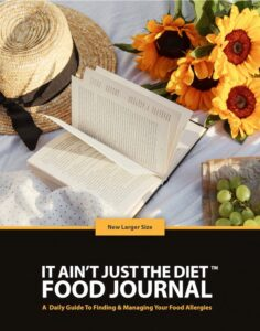 """It Ain't Just The Diet FOOD JOURNAL (8.5"""" x 11"""") (Photo takes you to Amazon to buy)"""